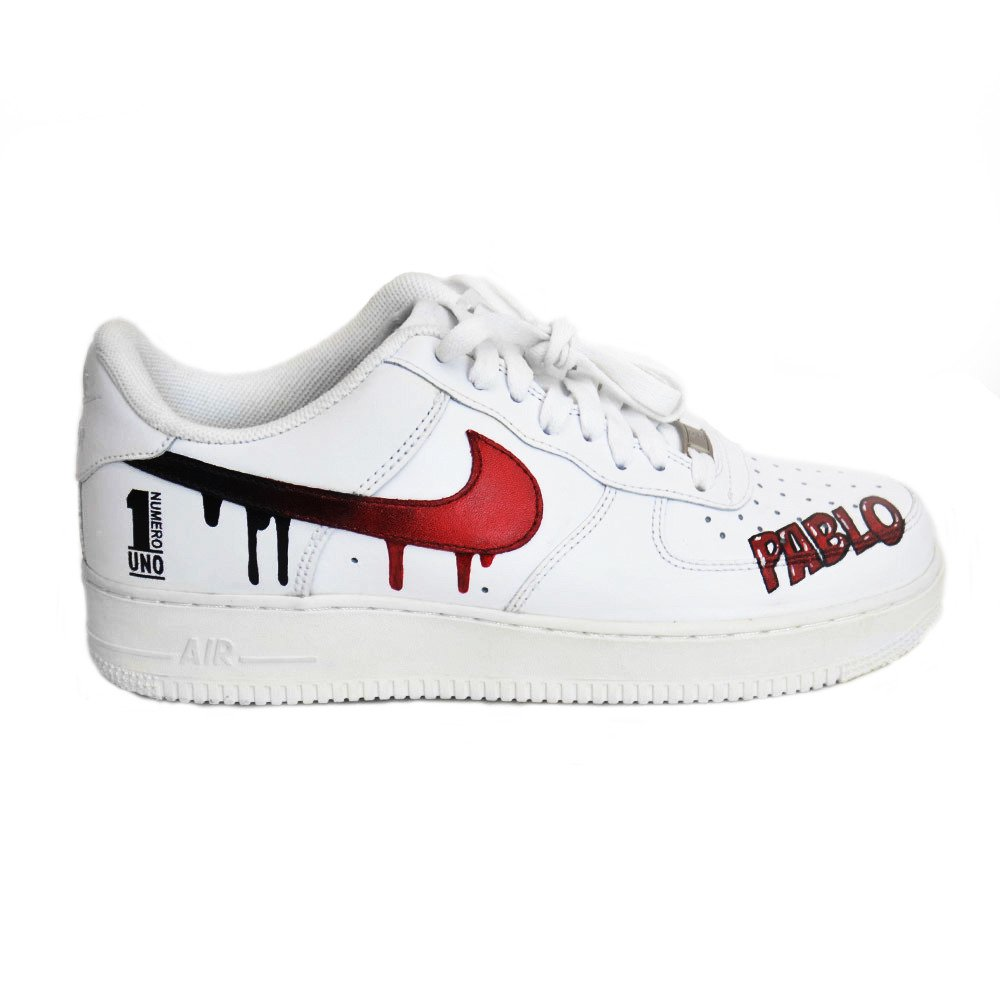 air force 1 custom of white