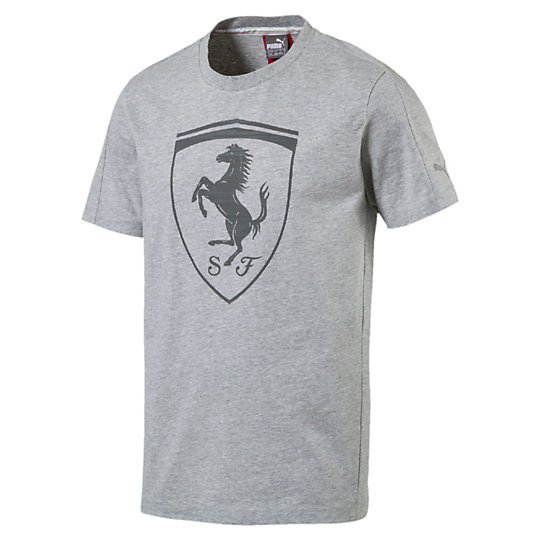 Basketo Ferrari 572805 pl Puma Maglietta 03 Shield shBQrCxtd