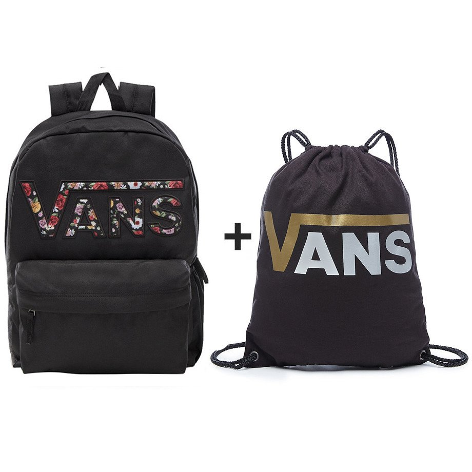 c408711a43 VANS Realm Zaino - VN0A3UI8YGL 004 + VANS Benched Novelty - VN0A3IMFB5T -  Basketo.pl