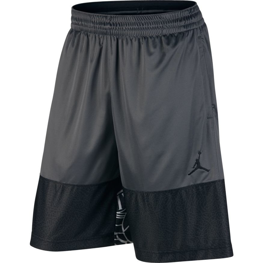 50d565a6b2d6e7 Air Jordan Wings Blockout Shorts - 831336-021 Dark Grey