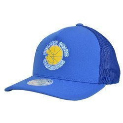Mitchell & Ness NBA Golden State Warriors Snapback - MN-HWC-INTL292-GOLWAR-BLU