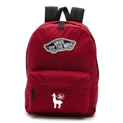 Vans Realm Biking Red Backpack - VN0A3UI61OA - Custom Lama