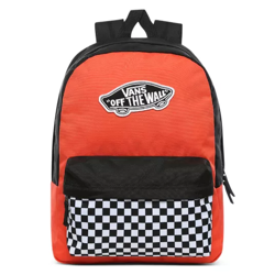 Vans Realm Paprika-Checkerboard Backpack - VN0A3UI6ZKF