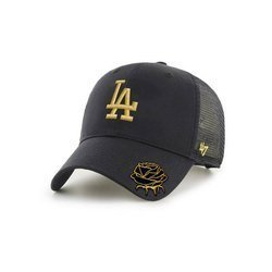 47 Brand MLB Los Angeles Dodgers Trucker Snapback Custom Gold Rose
