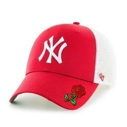 47 Brand MLB New York Yankees '47 MVP Trucker Cap Custom Rose - B-BRANS17CTP-RD