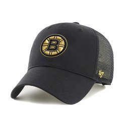 47 Brand NHL Boston Bruins Branson Trucker Cap - H-BRANS05CTP-RDD