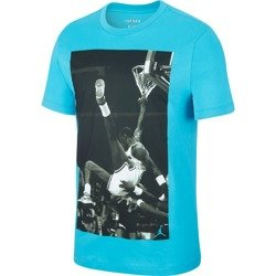 Air Jordan Hangtime Photo T-Shirt - AQ3709-433