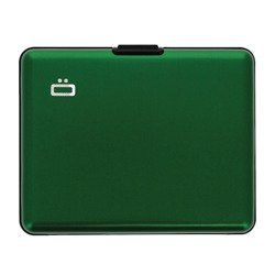 Aluminium Ogon Designs Big Stockholm Wallet Green RFID protect