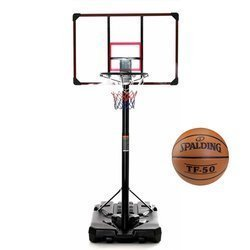 Basketball set DELUX 305 cm + Spadling TF-50 Basketball
