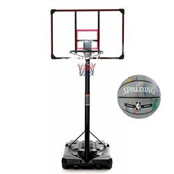 Basketball set DELUX 305 cm + Spalding NBA Marble Series