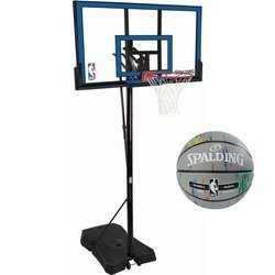 Basketball set Spalding NBA GAMETIME SERIES + Spalding Basketball