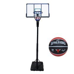 Basketball set TOP 305 cm + Spalding Chicago Bulls Basketball