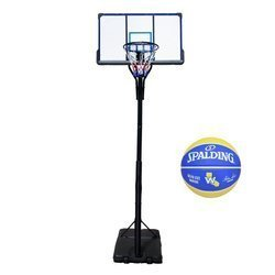 Basketball set TOP 305 cm + Spalding Golden State Basketball