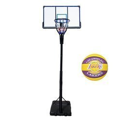 Basketball set TOP 305 cm + Spalding LAL Basketball