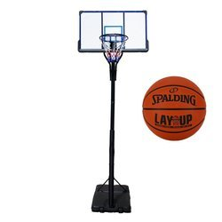 Basketball set TOP 305 cm + Spalding LAYUP outdoor