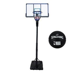 Basketball set TOP 305 cm + Spalding NBA Basketball outdoor