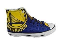 Converse Chuck Taylor All Star High NBA Golden State Warriors Shoes  - 159416C