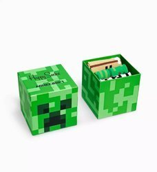 Giftbox Happy Socks x Minecraft 3-pak - SXMIN08-7300