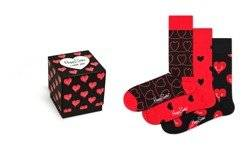 Happy Socks (3-PAK) I Love You Gift Box - XLOV08-4300