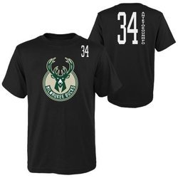 Koszulka NBA Tall SS Tee  Milwaukee Bucks Giannis Antetokounmpo