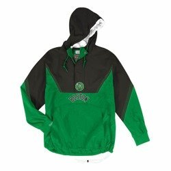 Mitchell & Ness Half Zip Anorak Boston Celtics Jacket - HFZPMG18020-BCEKYGR1
