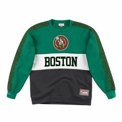 Mitchell & Ness Leading Scorer Fleece Crew Boston Celtics - FCNKDF18025-BCEKYGN