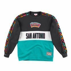 Mitchell & Ness Leading Scorer Fleece Crew San Antonio Spurs- FCNKDF18025-SASTEAL