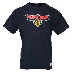 Mitchell & Ness NBA Atlanta Hawks Team Logo T-shirt