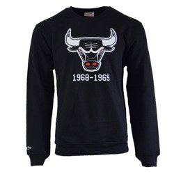 Mitchell & Ness NBA Chicago Bulls Team Logo Crewneck