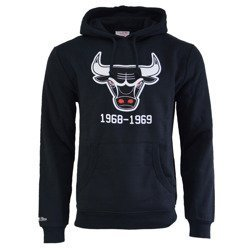 Mitchell & Ness NBA Chicago Bulls Team Logo Hoodie