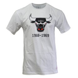 Mitchell & Ness NBA Chicago Bulls Team Logo T-Shirt