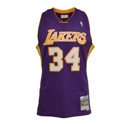 Mitchell & Ness NBA LA Lakers Shaq O'neal Swingman Jersey - SMJYGS18447-LALPURP99SON
