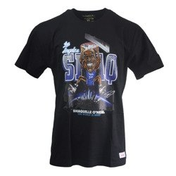 Mitchell & Ness NBA Los Angeles Lakers Shaquille O'Neal Caricature T-Shirt
