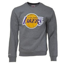 Mitchell & Ness NBA Los Angeles Lakers Team Logo Crewneck