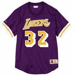 Mitchell & Ness NBA Magic Johnson Los Angeles Lakers Mesh Crew Neck