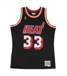 Mitchell & Ness NBA Miami Heat Alonso Mourning Swingman Jersey - SMJYAC18093-MHEBLCK96AMO