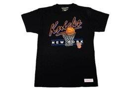 Mitchell & Ness NBA New York Knicks Team Arch T-Shirt