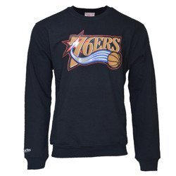 Mitchell & Ness NBA Philadelphia 76ers Team Logo Crewneck