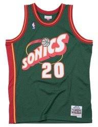 Mitchell & Ness NBA Seattle Supersonics Gary Payton Swingman Jersey