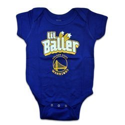 NBA Golden State Warriors Lil Baller Bodysuit - EK2I1BBJRSB9-WAR
