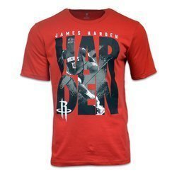 NBA In The Game Cotton Tee Rockets Harden - EK2M1BBR2B01-RCKJH