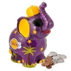 NBA Los Angeles Lakers Elephant-Bank - WTX0113-11001