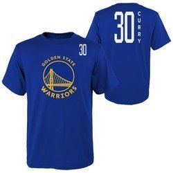 NBA Tall SS Tee Golden State Warriors Stephen Curry T-Shirt