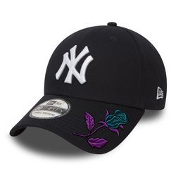 New Era 39THIRTY MLB New York Yankees Fullcap Custom Rose - 10145636