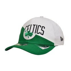 New Era 9FIFTY NBA Boston Celtics Split Stretch Kids Snapback  - 12145382