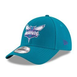 New Era 9FORTY Charlotte Hornets The League Teal Strapback- 11405615