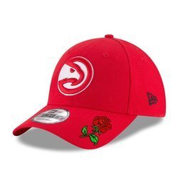 New Era 9FORTY NBA Atlanta Hawks Strapback Custom Rose - 11405618
