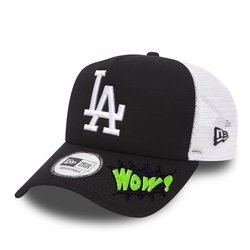 New Era MLB Los Angeles Dodgers Clean A Frame Trucker Cap Custom WOW - 11405498