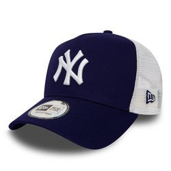 New Era MLB New York Yankees Clean A Frame Trucker Cap - 11588489