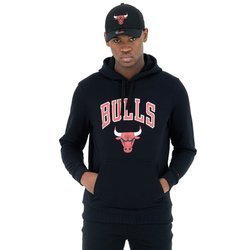New Era NBA Chicago Bulls Team Logo Hoodie - 11530761